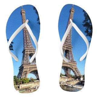 Paris Eiffel Tower Flip Flops