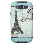 Paris Eiffel Tower French Design Samsung Galaxy S3 Cover