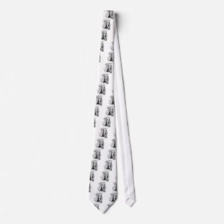 Paris Eiffel Tower French Scene Collage Tie