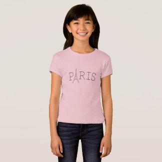 Paris Eiffel Tower girl's t-shirt
