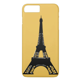 Paris Eiffel Tower gold iPhone 7 Plus Case