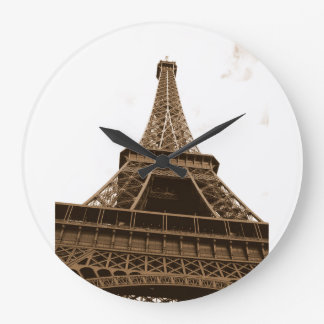 Paris - Eiffel Tower - I Love Paris - France Wallclock