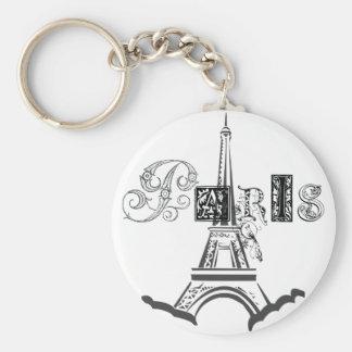 Paris Eiffel Tower Key Chain