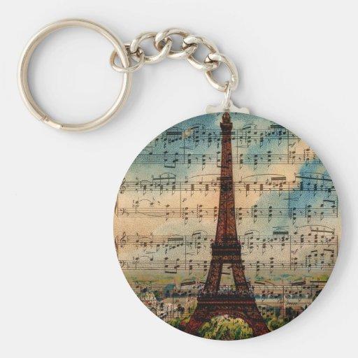 Paris Eiffel Tower Key Chains