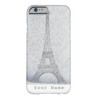 Paris Eiffel Tower Vintage Elegant Chic Custom Barely There iPhone 6 Case