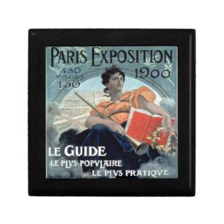 Paris Exposition 1902 BC Gift Box