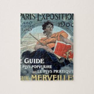 Paris Exposition 1902 BC Jigsaw Puzzle