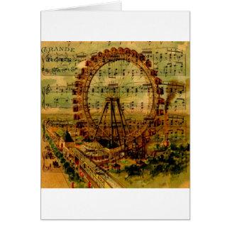 Paris Ferris Wheel Greeting Cards
