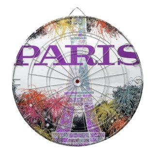 Paris Fireworks Dartboard