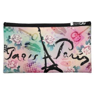 Paris Floral Medium Cosmetic Case