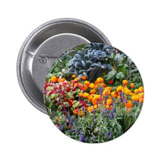 Paris Flower Market Pinback Buttons