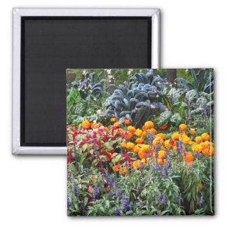 Paris Flower Market Fridge Magnet