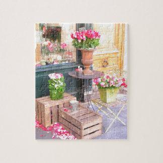 Paris Flower Shop Puzzle
