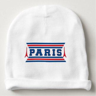 Paris football baby beanie