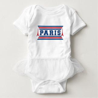 Paris football baby bodysuit