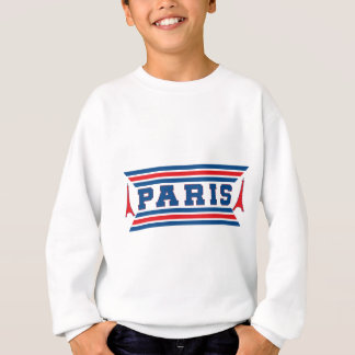 Paris football sweatshirt