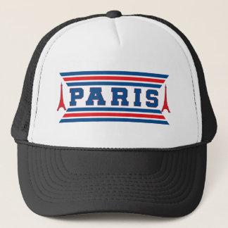 Paris football trucker hat