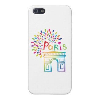 Paris France | Arc de Triomphe | Neon Design Case For The iPhone 5