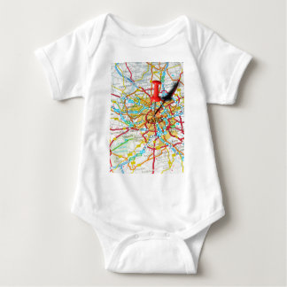 Paris, France Baby Bodysuit