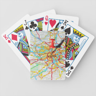 Paris, France Bicycle Playing Cards