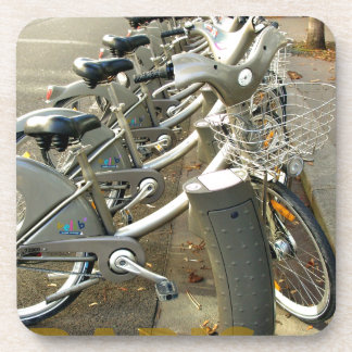 Paris France bicycles Coasters