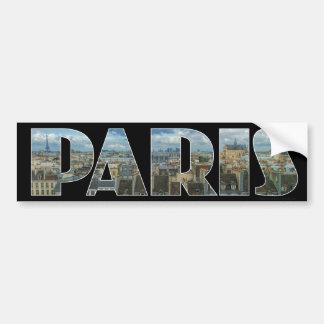 Paris France bumper sticker