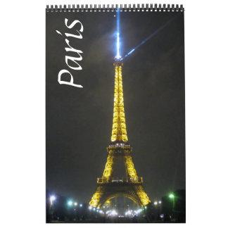 paris france calendars
