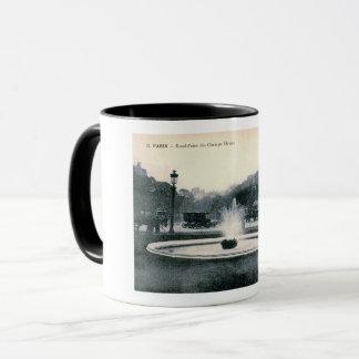 Paris, France, Champs-Élysées, Vintage Mug