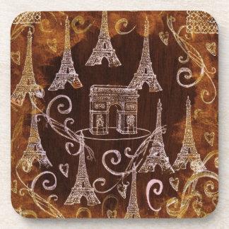 Paris France Beverage Coaster