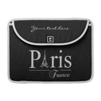 Paris France custom MacBook sleeve