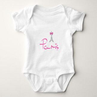 Paris,-France, Eiffel, French Baby Bodysuit