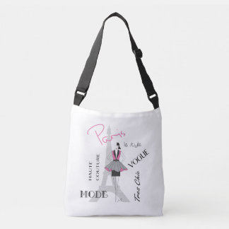 Paris, France, Eiffel Tower Fashion, Crossbody Bag