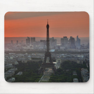 Paris France Eiffel Tower Skyline Mouse Pad