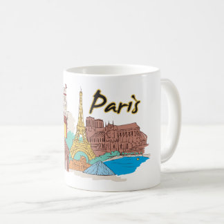 Paris France Famous City Coffee Mug