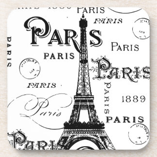 Paris France Gifts and Souvenirs Beverage Coasters