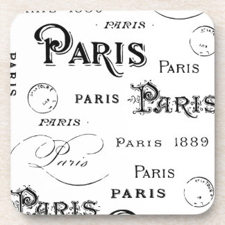 Paris France Gifts and Souvenirs Coasters