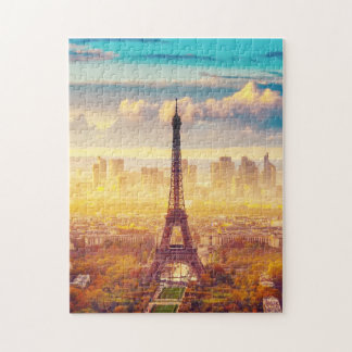 Paris, France In the Summer Jigsaw Puzzle