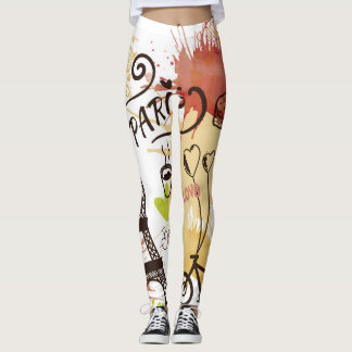 Paris, France Leggings