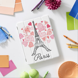 Paris, France Love iPad Cover
