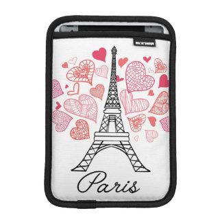 Paris, France Love iPad Mini Sleeve