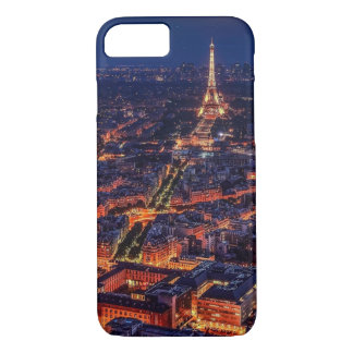 Paris, France Night Skyline iPhone 8/7 Case