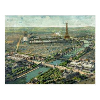 Paris France Scenery 1889 Postcard