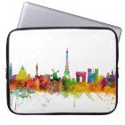 Paris France Skyline Laptop Sleeve