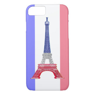 Paris French Flag Eiffel Tower iPhone 7 Case