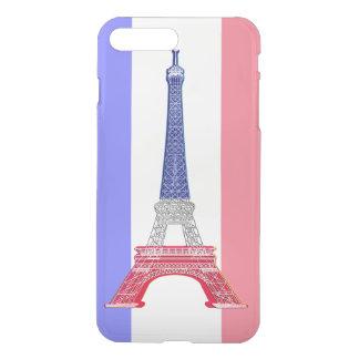 Paris French Flag Eiffel Tower iPhone 7 Plus Case