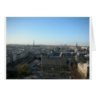 Paris from Notre-Dame Greeting Card