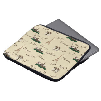 Paris Fun Laptop Sleeve