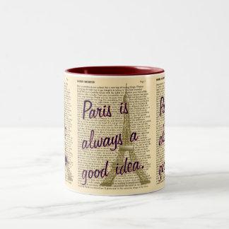 Paris -- Good Idea -- coffee mug