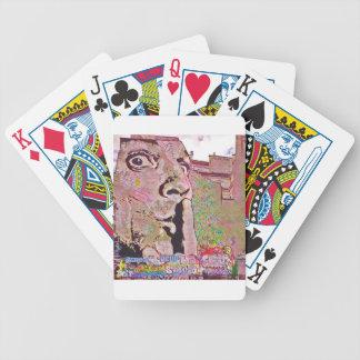Paris graffiti Pomipidou Museum Bicycle Playing Cards