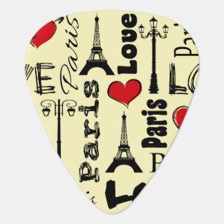 Paris Guitar Pick